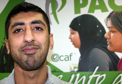 Masood Ajaib of Commpact in Washwood Heath