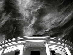 ... (Shahriar Erfanian) Tags: sky blackandwhite bw building clouds interestingness explore itc bwdreams shahriarerfanian