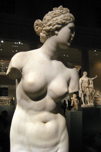 NYC - Metropolitan Museum of Art - Marble statue of Aphrodite by wallyg.
