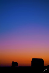 new dawn (chris frick) Tags: morning pink blue winter red black france cold nature silhouette yellow vertical rural dawn morninglight raw mood signature freezing explore fontainebleau ambiance polfilter farmhouses newdawn wintermood sonyalpha100 chrisfrick gradientofcolors colorsaturatiion interpolition