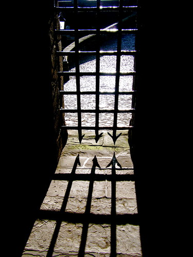 Portcullis with Shadow