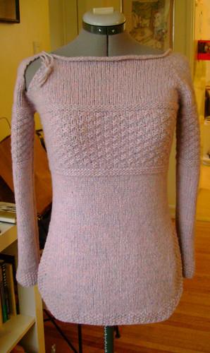textured tunic