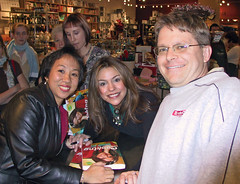 Wendy and Dave with Rachel Ray