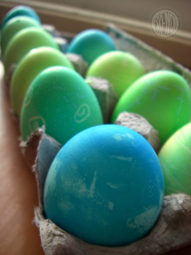 green and blue eggs