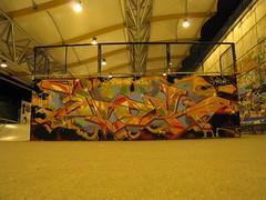 Graffiti Skatepark Bercy Rampe
