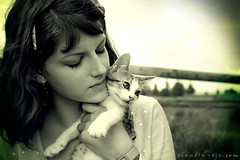 little new pet (claudiaveja) Tags: portrait tree nature cat outdoors photography kitten dof stock images teen age claudia concept transylvania gree veja cluj royaltyfree groos stefy rightsmanaged lipseyes stuning claudiaveja profunzimedecamp clarneclar rightmanaged
