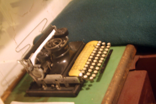 Old Russian Typewriter