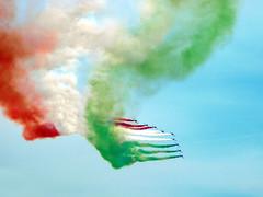 Firenze 31/3/08, frecce tricolori-2