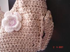 Bolsa meia lua (Agulha de tric) Tags: bolsa croche fatbag