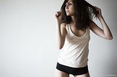 Messy. (iBichon in Studio) Tags: portrait paris girl fashion studio nikon johanna d3 stephane