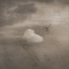 lone cloud. dark day. (Ando : @_AndoPerez) Tags: cloud texture paint painted scratches handpainted lone layers textured alchemy alchemist layered sratched justaddbluecom justaddblue imagealchemy theimagealchemist