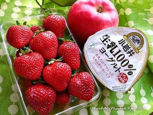 5990福岡的草莓與青森的蘋果
