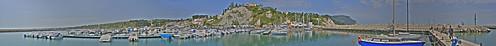 Panoramica del Porto di Numana