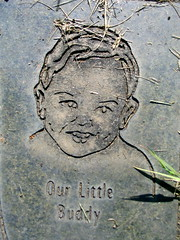 saint patrick's historic cemetery - new era, or (DeadManTalking) Tags: portrait love cemetery graveyard oregon catholic child remembrance saintpatricks newera foreveryoung clackamascounty ourlittlebuddy deadmantalking christopherschantin
