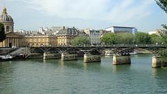 pont des arts 2 (Julie70 Joyoflife) Tags: bridge paris france seine centre pont pontdesarts