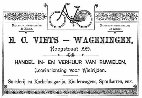 EC Viets - Wageningen 1900s