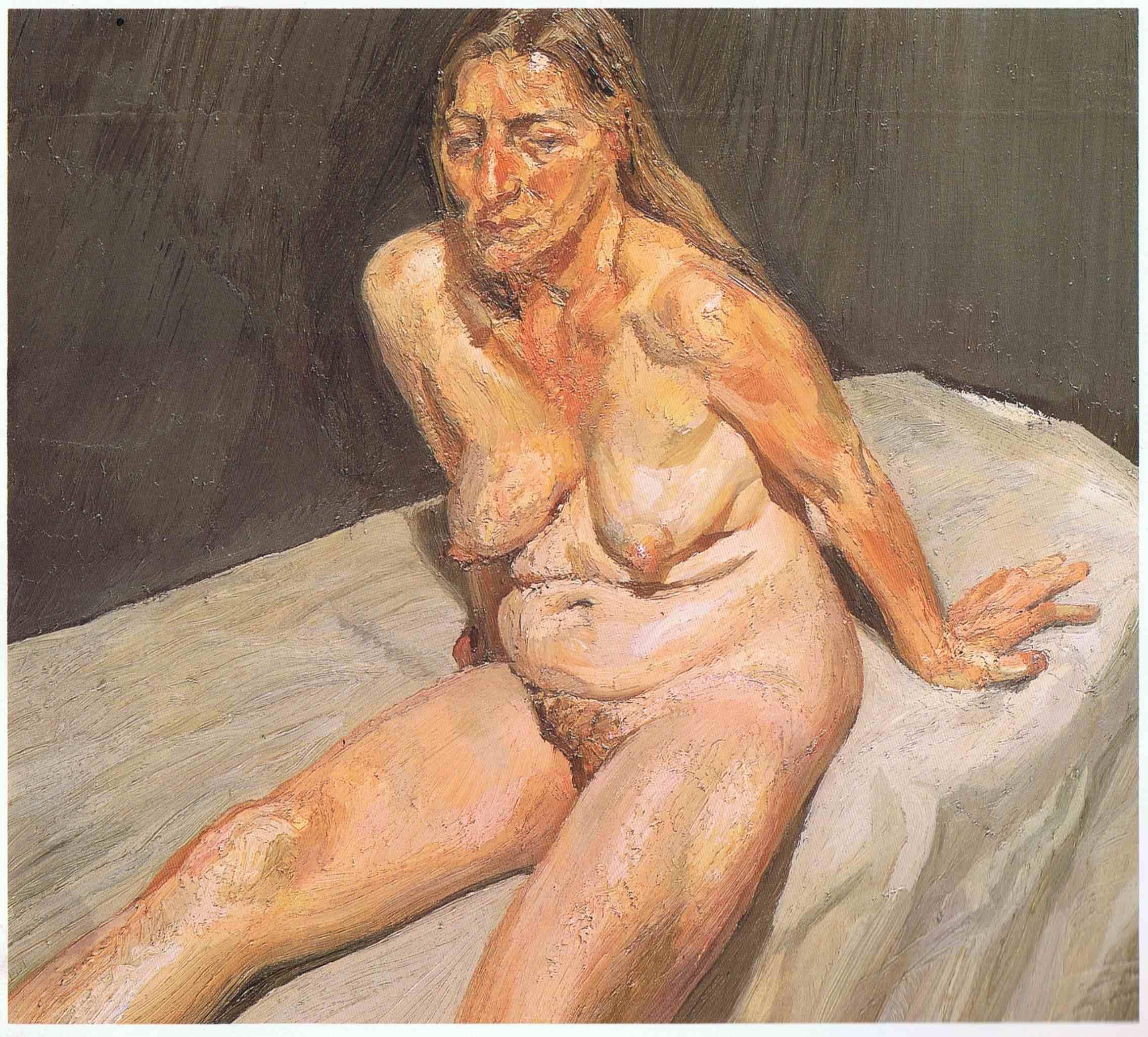 卢西安·弗洛伊德(Lucian Freud,1922-) - 濡艺 - 何  林  峰    Blog