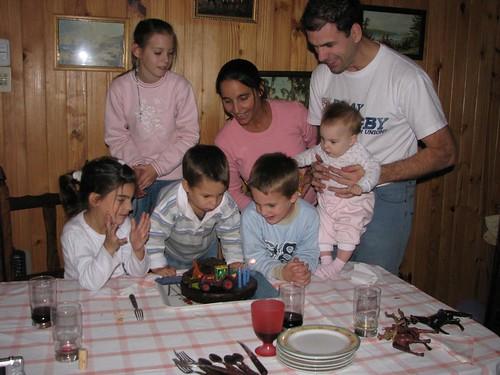 Cumpleaños Tomás - 3 años