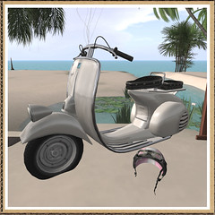 *fllo*Vintage Scooter1 (flloflickr) Tags: life boots scooter sl second fllo amaama sheershank