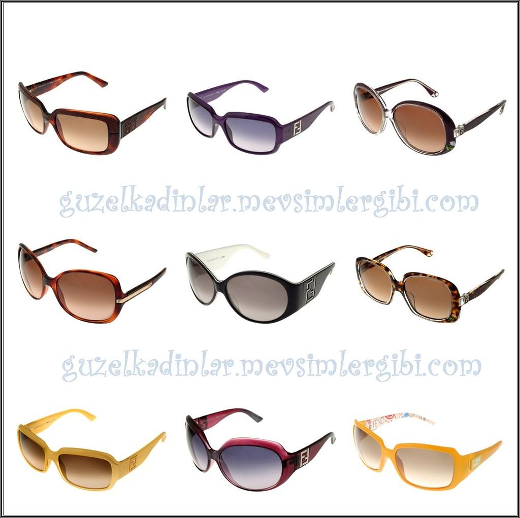 2010-2011 Fendi Güneş Gözlüğü Fendi Gözlük Modelleri Sunglasses Eye Wear