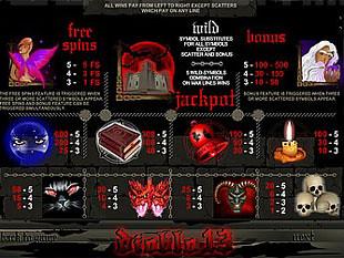 free Diablo 13 slot mini symbol