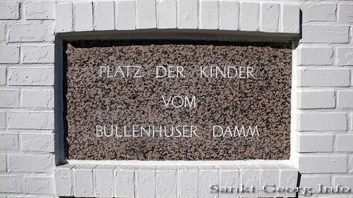 Platz der Kinder vom Bullenhuser Damm in Hamburg Rothenburgsort