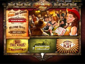 HighNoon Casino Home