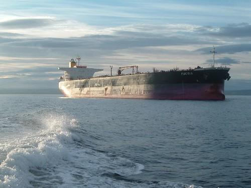 Fucsia - Oil Tanker.