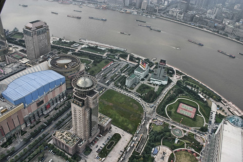 Shanghai -- from the top of the Pearl Tower
