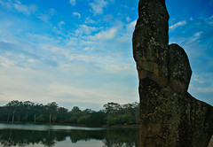 The causeway of Angkor Wat at sunrise (Adam Cathro) Tags: asia cambodia seasia southeastasia angkorwat