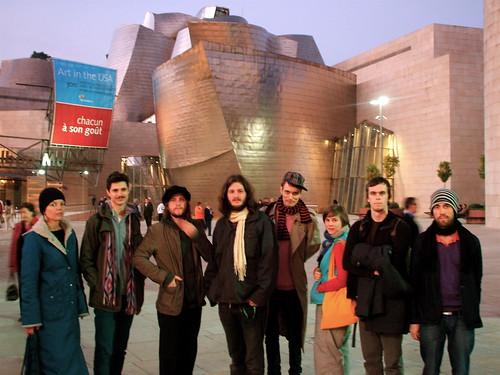 Efterklang at Guggenheim Bilbao