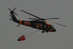 Yeah! The military is helping with the firefighting effort (slworking2) Tags: water fire bucket chopper san military diego helicopter firefighting wildfire wildfires bambibucket onlythebestare