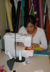 Kat Sewing!