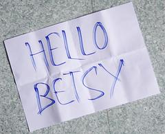 Hello Betsy