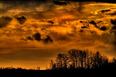 Sun Down (A guy with A camera) Tags: trees sunset sky sun canada nature silhouette clouds rural landscape nikon scenery country alberta prairie 70300mm soe hdr vr blueribbonwinner vob d80 mywinners ultimateshot diamondclassphotographer theunforgettablepictures
