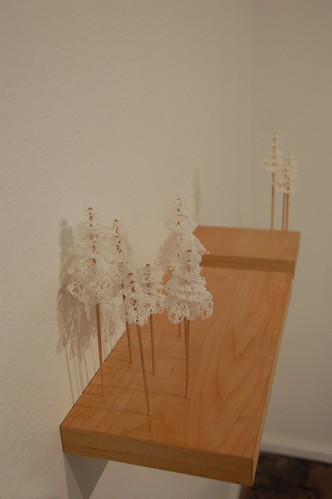 ghost doily trees :: side view
