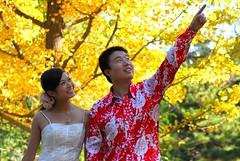 Direction of Happy (Luo Shaoyang) Tags: autumn love happy couple action chinese romantic      fragranthills actionphotos