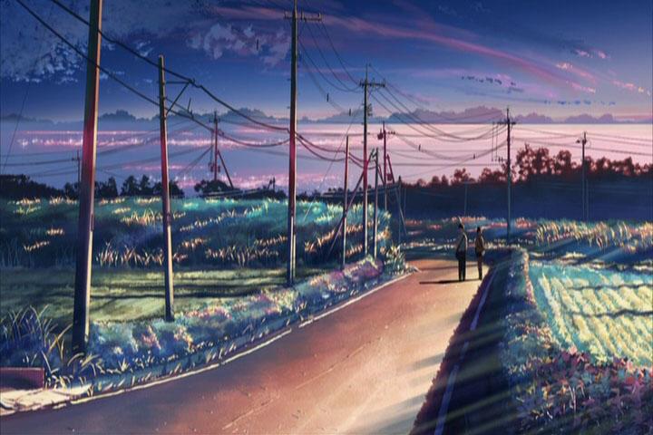 """Скриншот фильма """"Byousoku 5 Centimeter"""""""