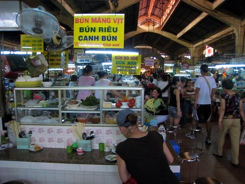 Lunch counter, Ben Thanh Market
