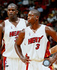 AAGO063~Shaquille-O-Neal-Dwyane-Wade-Heat-Group-Shot-Posters