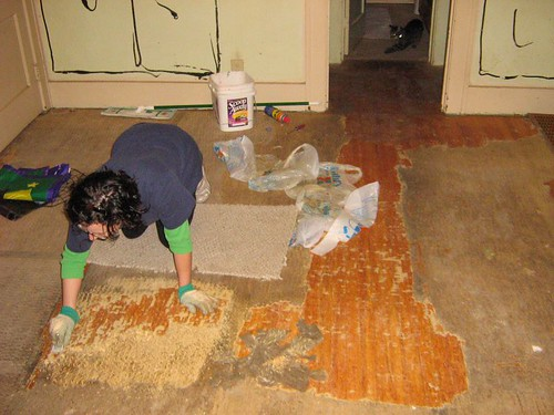 Our New Old House 187 Blog Archive 187 Update Carpet Padding