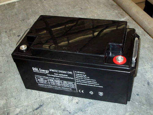 EGL AGM deep cycle battery