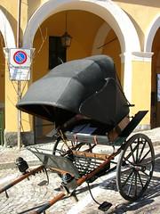 No parking! (MaranzaMax) Tags: italy max nikon noparking picasa coolpix 5900 chariot maranza calesse anawesomeshot betterthangood maranzamax