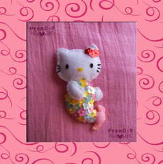 ♥ Mi sirenita Hello Kitty ♥ (PrenD-T♥) Tags: cat hellokitty kitty felt gato feltro fieltro