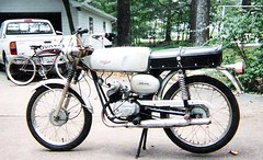 1966 Benelli unrestored