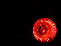 Bright Lights (-Passenger-) Tags: light red macro bulb pub bright passenger