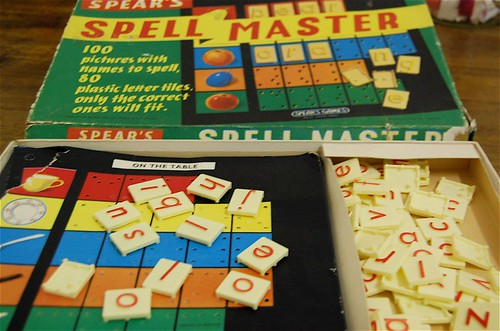 Spell Master board - thrifted