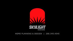 Skylight Designs LLC. (ben.bibikov) Tags: house home architecture studio skylight idaho boise planning commercial blueprint designs residential businesscard floorplans designbusinesscard