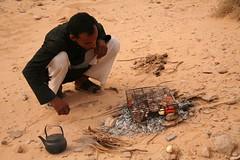 Bedouin BBQ (hazy jenius) Tags: desert wadirum jordan bedouin