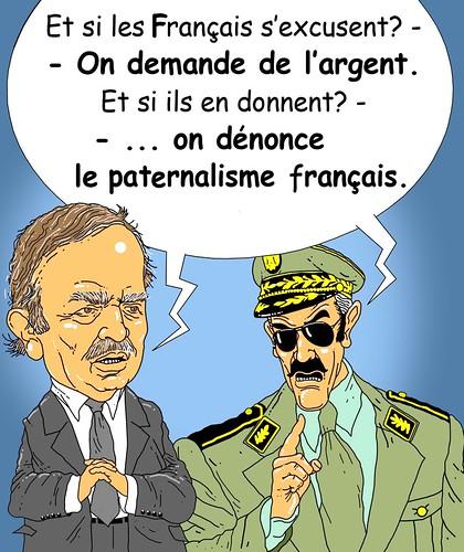 Bouteflika et la repetance Française